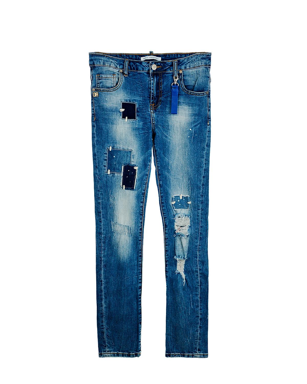 Брюки джинсовые Daniele Alessandrini для мальчиков