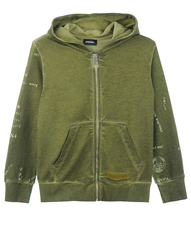 Куртка трикотаж Diesel для мальчиковТолстовки, Свитшоты<br><br>