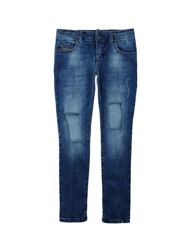 Брки джинсовые Diesel дл девочекОдежда<br><br>