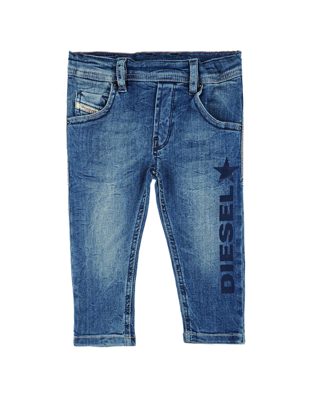 Брюки джинсовые Diesel для малышейДжинсы<br><br>