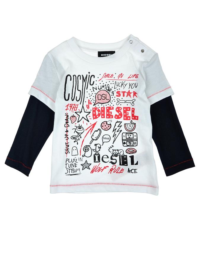 Толстовка Diesel для малышейСвитеры, Толстовки<br><br>