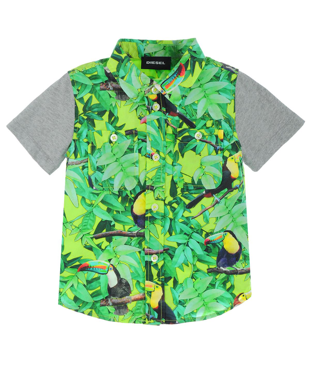Рубашка Diesel для малышейОдежда<br><br>