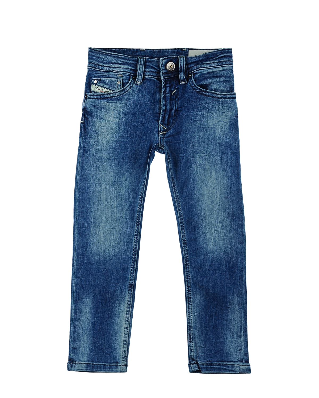 Брюки джинсовые Diesel для мальчиковДжинсы<br><br>