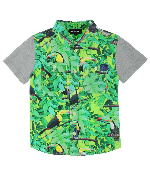 Рубашка Diesel для мальчиковОдежда<br><br>