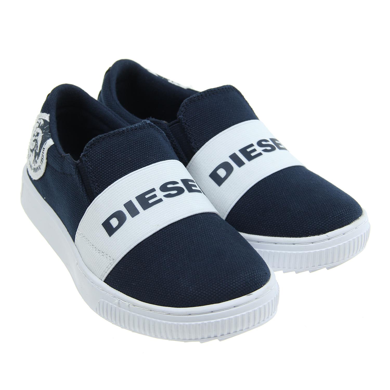 Слипоны Diesel для мальчиковОбувь<br><br>
