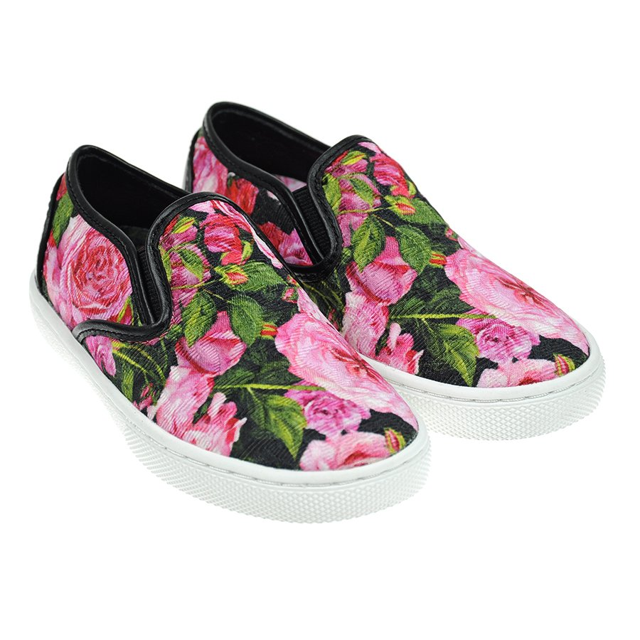 Слипоны Dolce&amp;Gabbana для девочекОбувь<br><br>
