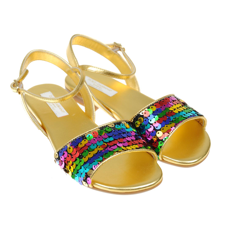 Босоножки Dolce&amp;Gabbana для девочекБосоножки, Сандалии<br><br>