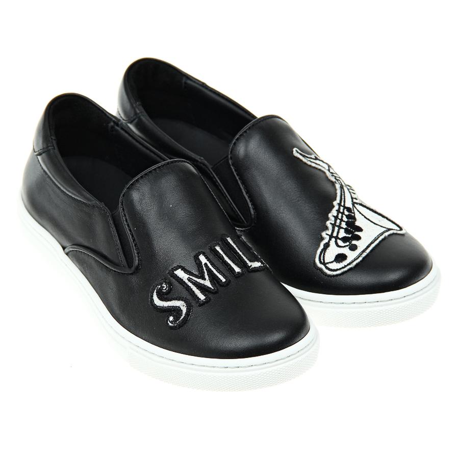 Слипоны Dolce&amp;Gabbana для мальчиковОбувь<br><br>