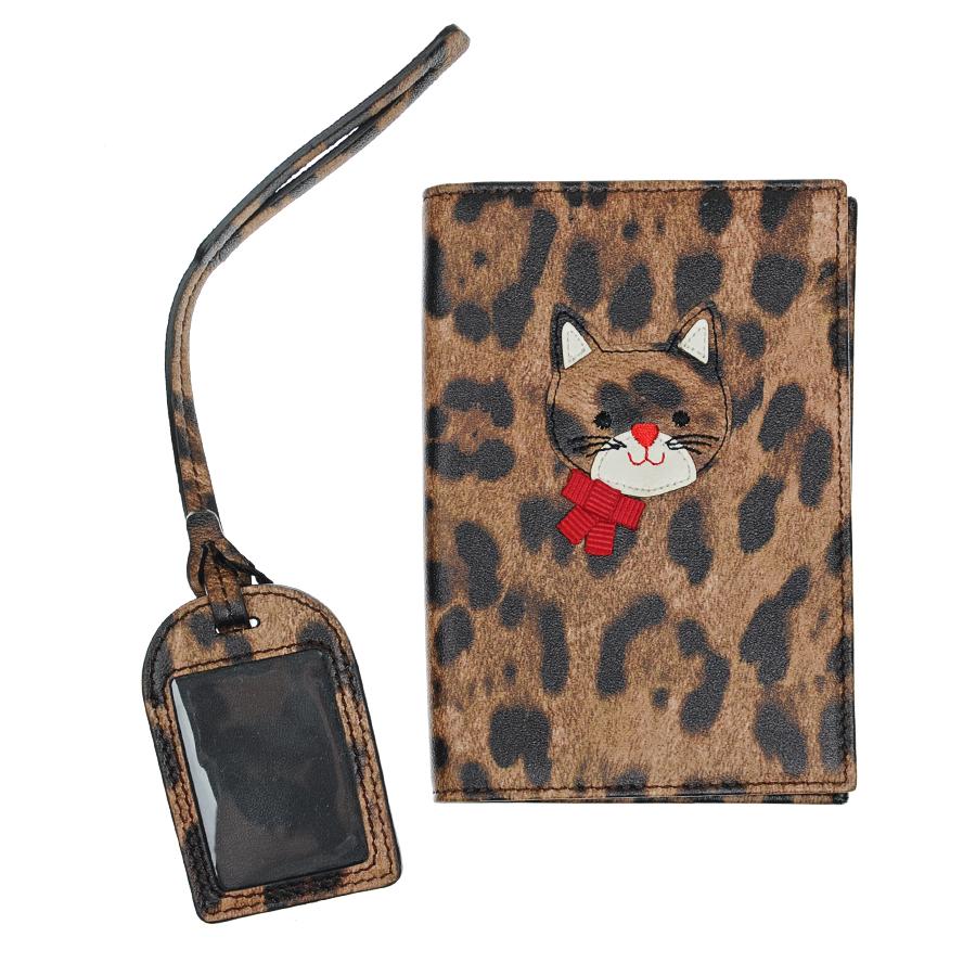 Набор подарочный Dolce&amp;Gabbana обложка на паспорт, бирка на чемоданСувениры<br><br>