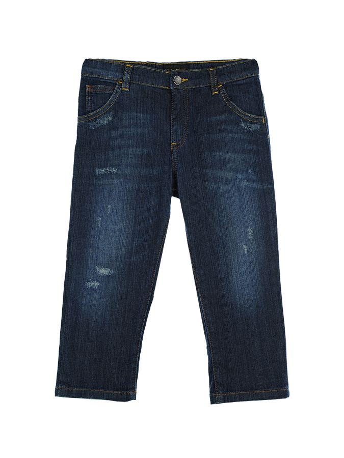 Брюки джинсовые Dolce&amp;Gabbana для малышейОдежда<br><br>