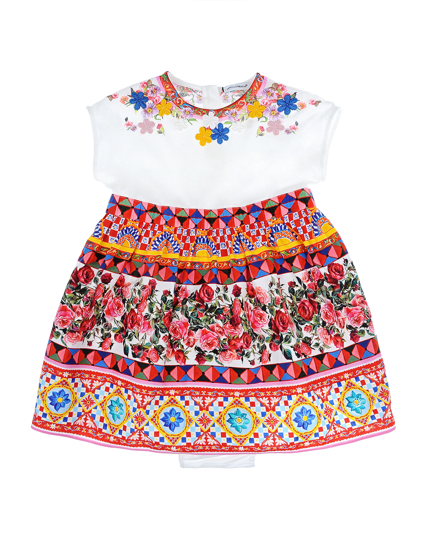 Платье 2 дет Dolce&amp;Gabbana для малышейОдежда<br><br>