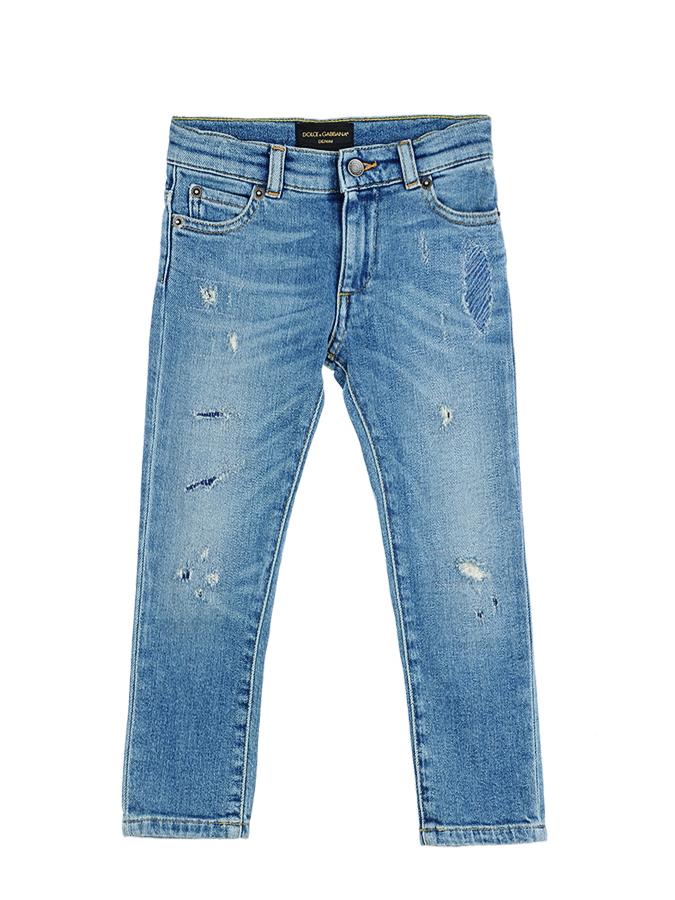 Брюки джинсовые Dolce&amp;Gabbana для мальчиковОдежда<br><br>