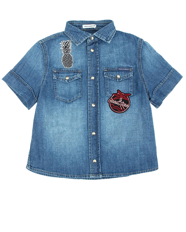 Рубашка Dolce&amp;Gabbana дл мальчиковОдежда<br><br>