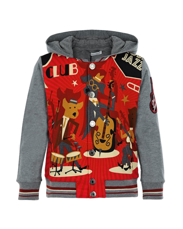 Куртка спортивная Dolce&amp;Gabbana для мальчиковОдежда<br><br>