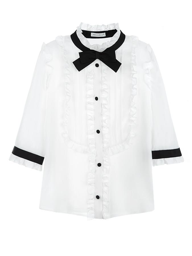 Блузка Dolce&amp;Gabbana для девочекОдежда<br><br>