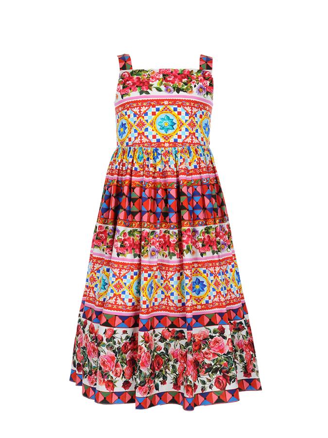 Сарафан Dolce&amp;Gabbana для девочекОдежда<br><br>