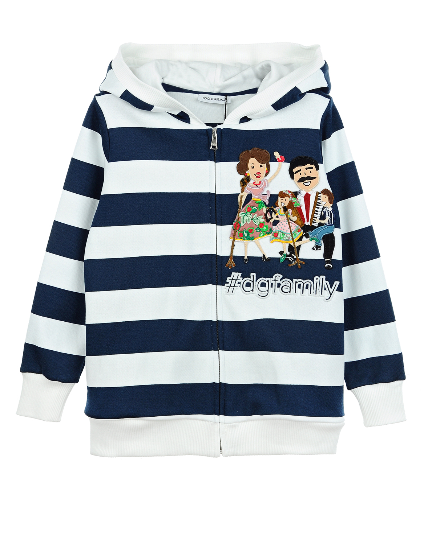 Куртка трикотаж Dolce&amp;Gabbana для девочекТолстовки, Свитшоты<br><br>