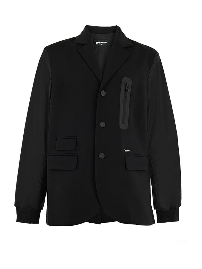 Пиджак Dsquared2 для мальчиковКостюмы, Пиджаки, Жилеты<br><br>