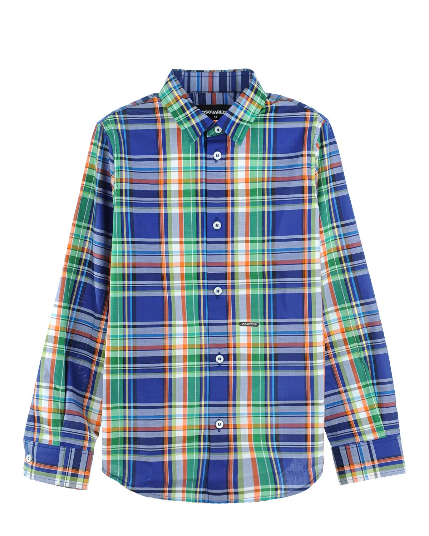 Рубашка Dsquared2 для мальчиковРубашки<br><br>