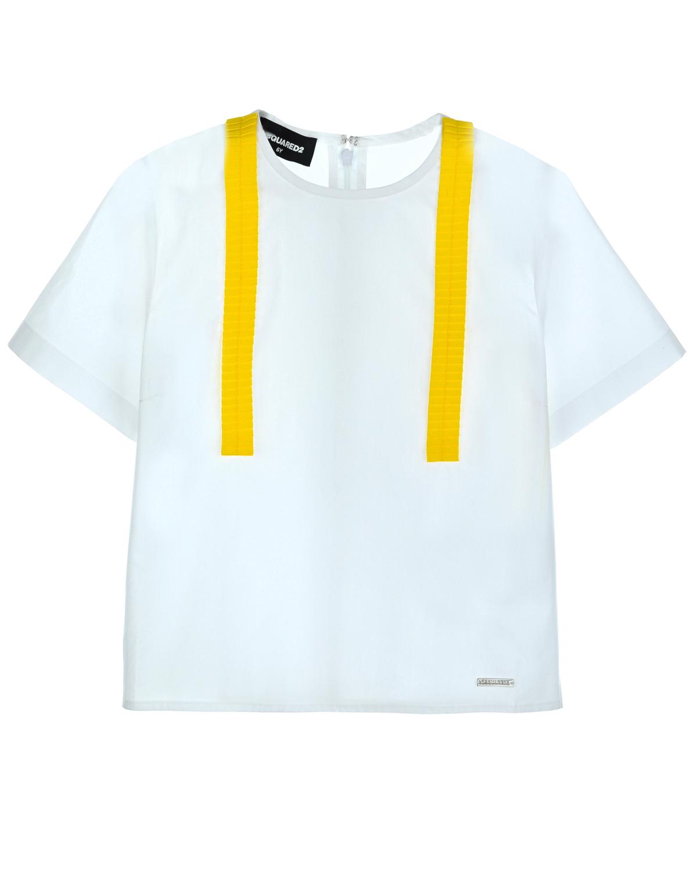 Блуза Dsquared2 для девочекОдежда<br><br>