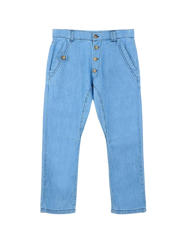 Брюки джинсовые Emile et Ida для мальчиковОдежда<br><br>