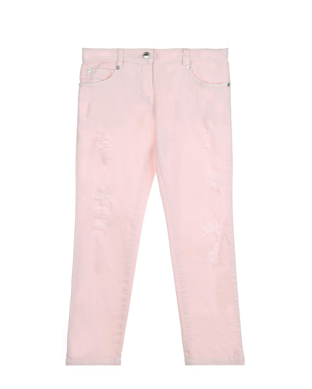 Брюки джинсовые Ermanno Scervino для девочекДжинсы<br><br>