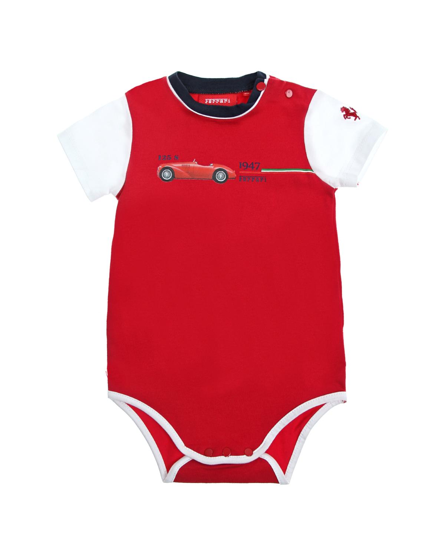 Боди кор.рукав Ferrari для малышей