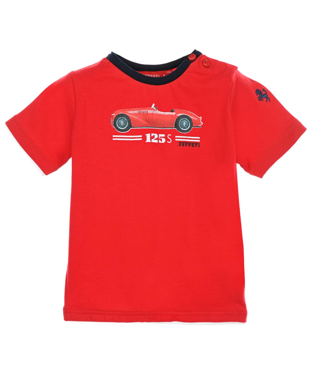 Футболка FerrariФутболки, Майки, Поло<br><br>