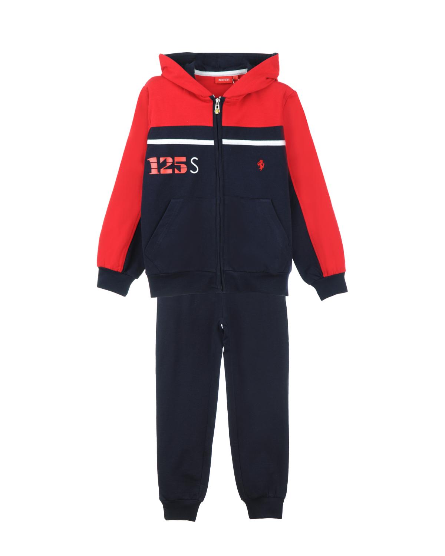 Костюм спортивный Ferrari для мальчиковСпортивная одежда<br><br>