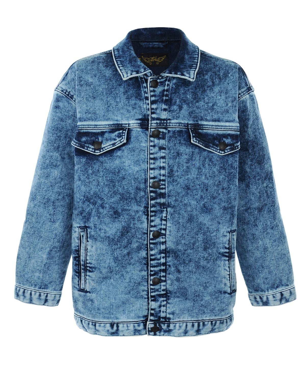Куртка джинсовая Finger in the nose для девочекВерхняя одежда<br><br>