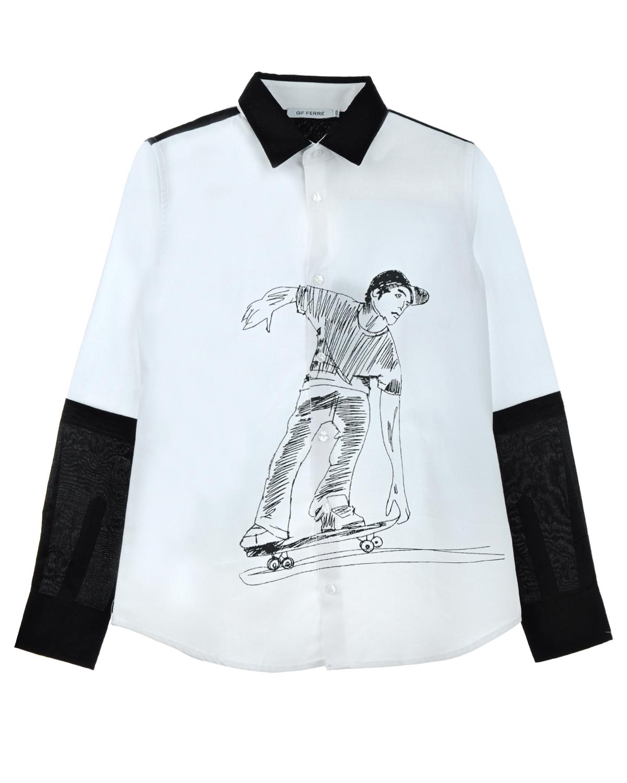 Рубашка Gf Ferre для мальчиковОдежда<br><br>