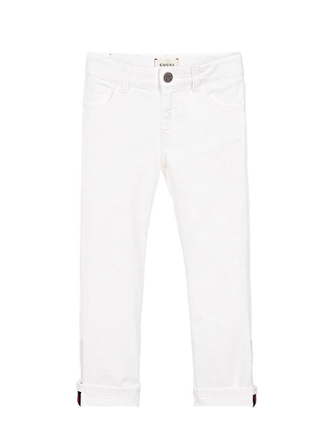 Брюки джинсовые Gucci для девочек