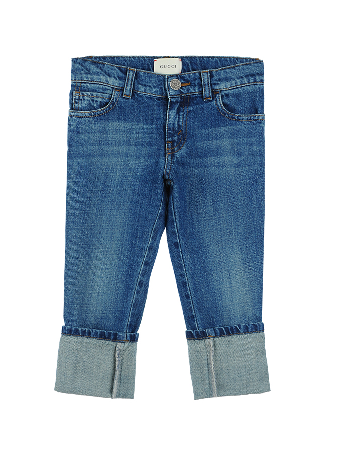 Брюки джинсовые Gucci для мальчиковДжинсы<br><br>