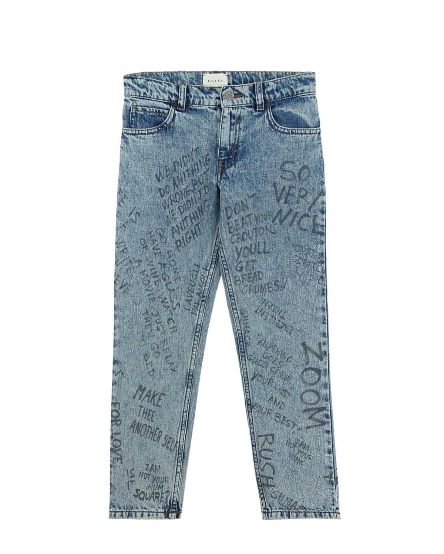 Брюки джинсовые Gucci для мальчиков