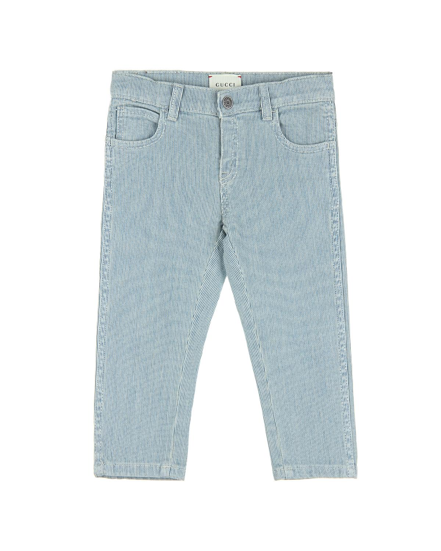 Брюки джинсовые Gucci для малышейОдежда<br><br>