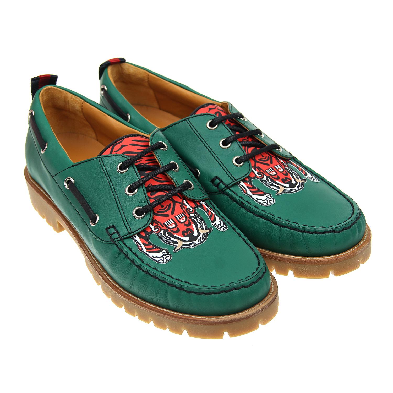 Ботинки низкие Gucci для мальчиковБотинки, сапоги демисезонные<br><br>