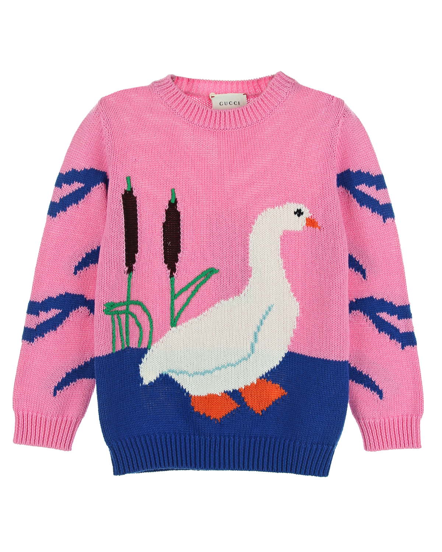 Джемпер Gucci для девочекСвитеры, Пуловеры<br><br>