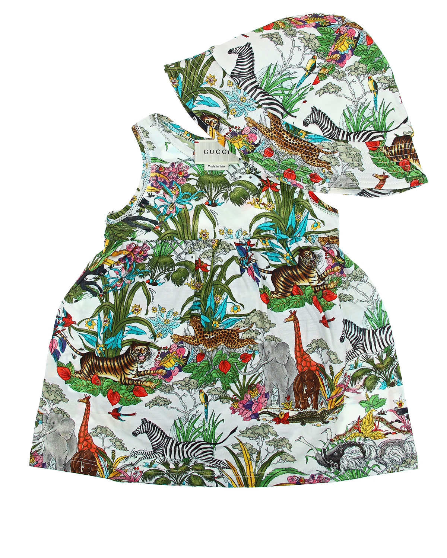Платье 2 дет Gucci для малышей