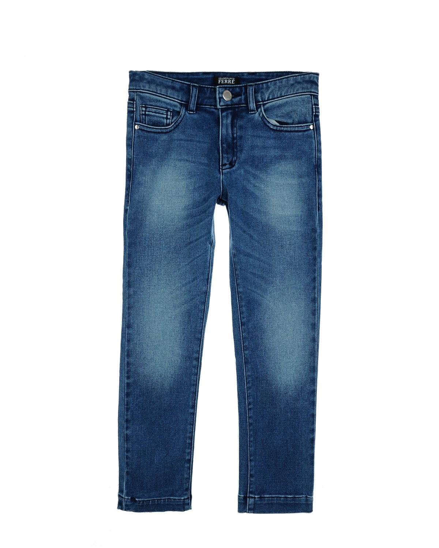 Брюки джинсовые Gianfranco Ferre для мальчиковОдежда<br><br>