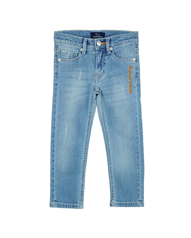 Брюки джинсовые Harmont&amp;Blaine для мальчиковОдежда<br><br>