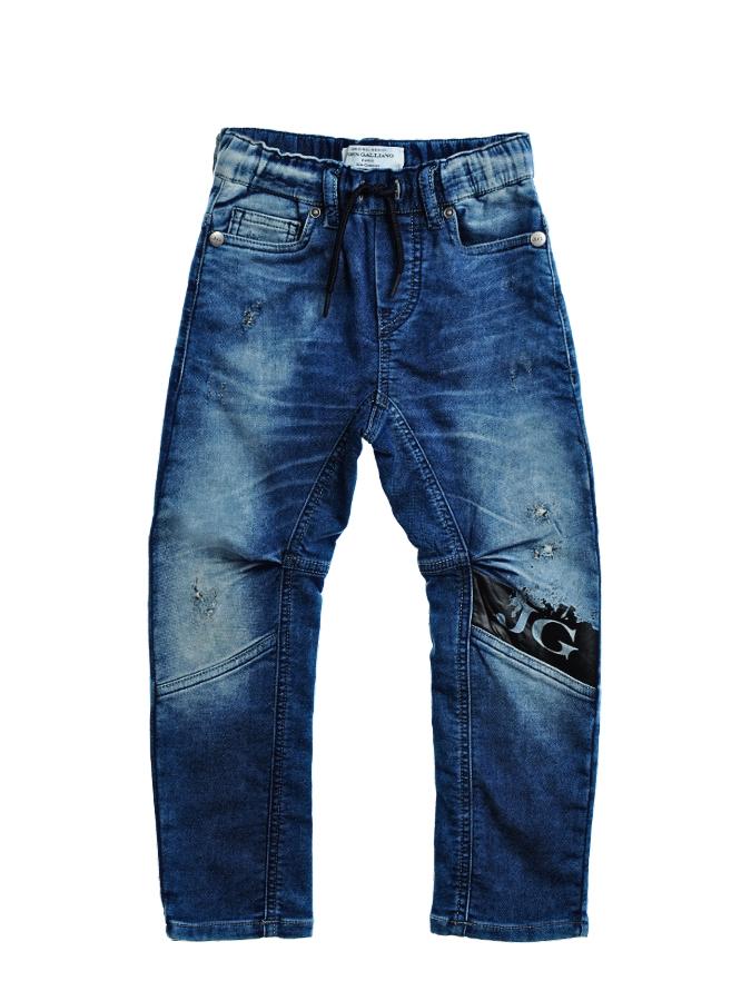 Брюки джинсовые John Galliano для мальчиковДжинсы<br><br>
