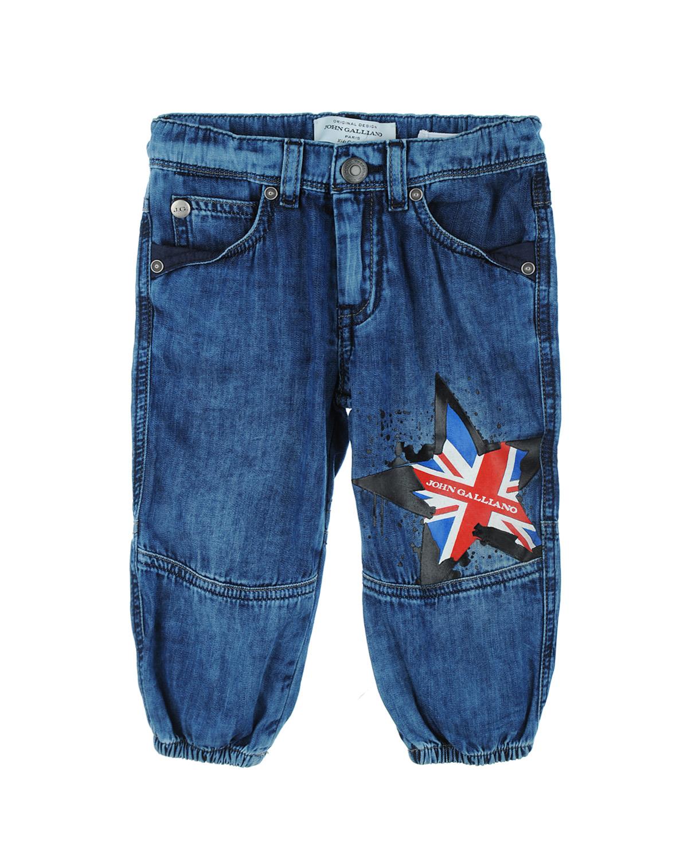 Брюки джинсовые John Galliano для малышейДжинсы<br><br>