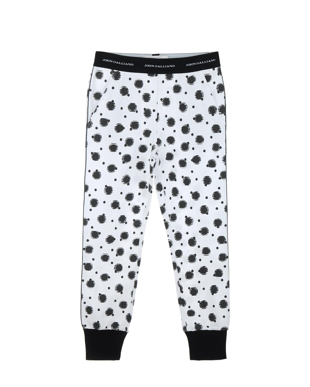 Брюки спортивные John Galliano для девочекСпортивная одежда<br><br>