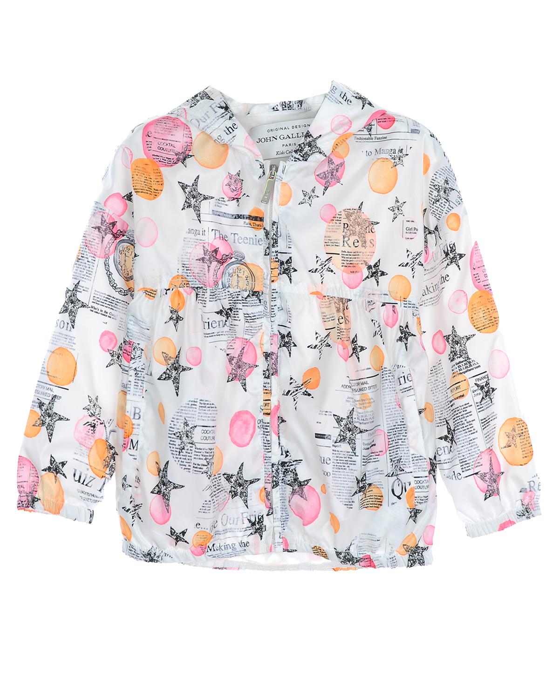 Ветровка John Galliano для девочекВерхняя одежда<br><br>