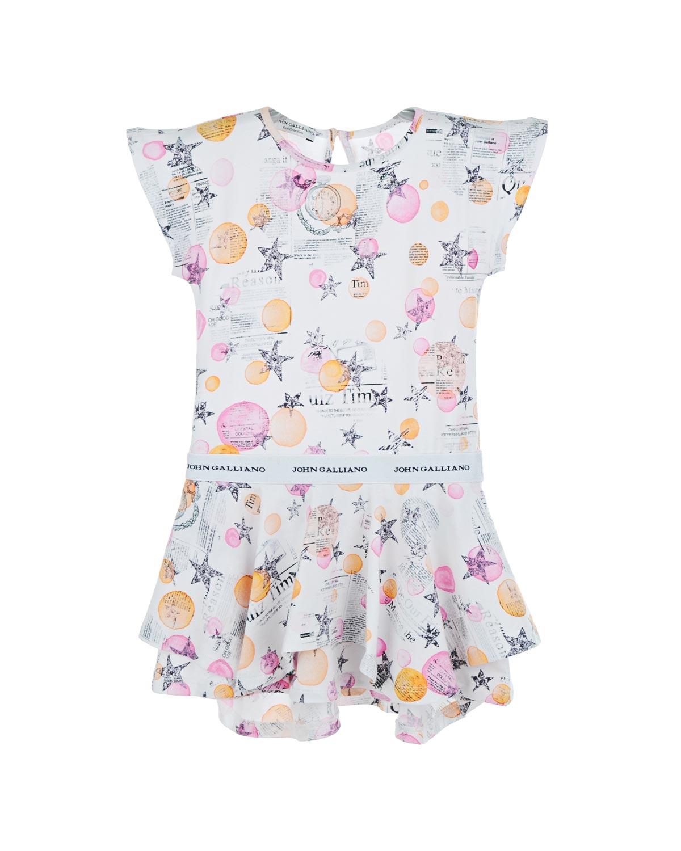 Платье John Galliano для малышейОдежда<br><br>