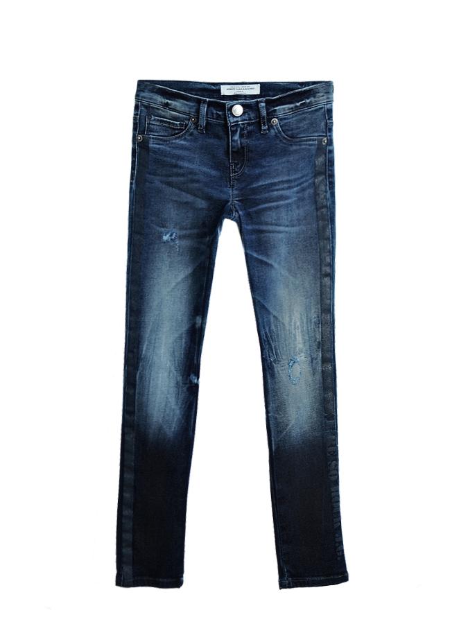 Брюки джинсовые John Galliano для девочекОдежда<br><br>