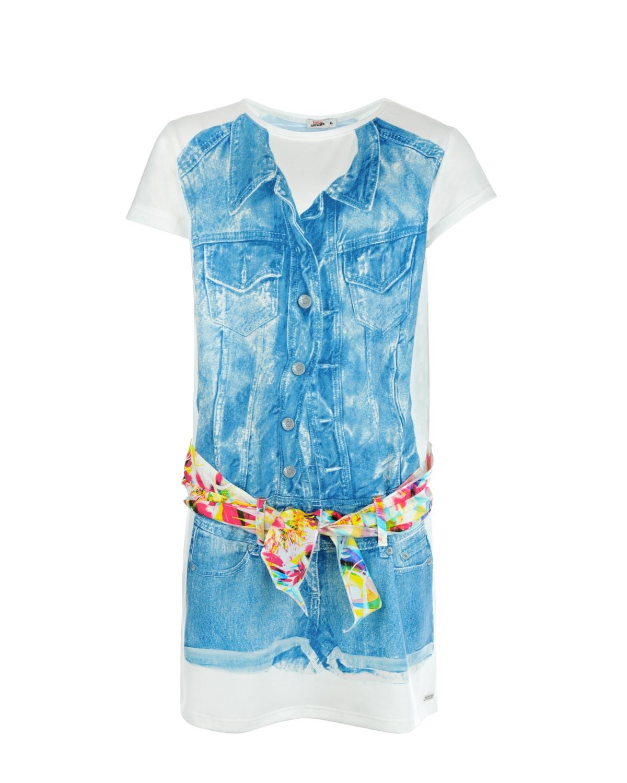 Платье Junior Gaultier для девочекОдежда<br><br>