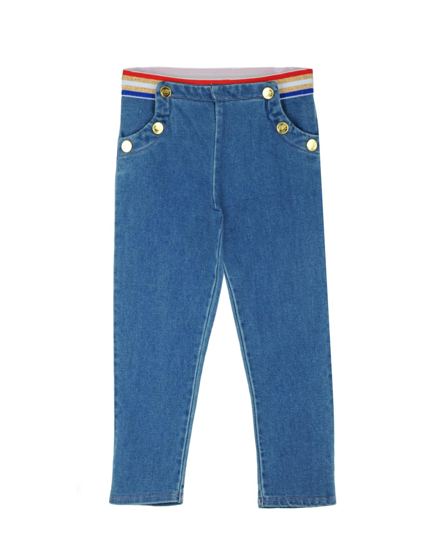 Брюки джинсовые Little Marc Jacobs для малышейОдежда<br><br>