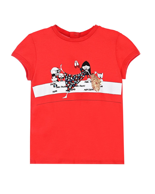 Футболка Little Marc Jacobs для малышей