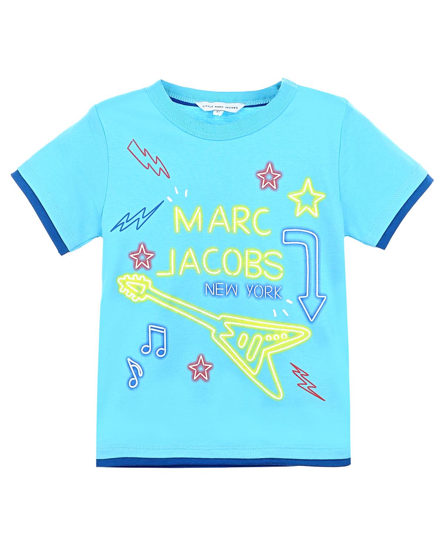 Футболка Little Marc JacobsОдежда<br><br>